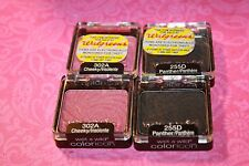 Lot of 4 Wet N Wild Color Icon Eye Shadow  2X #302A CHEEKY &  2X#255D PANTHER