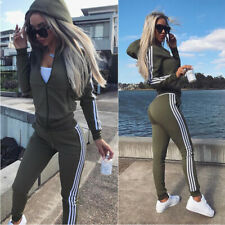 Women's sportswear hoodie sweatshirt pants suit sportswear zipper casual wear