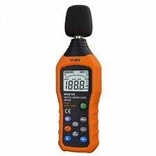 Vlike Noise Sound Level Meter Digital Decibel Meter With Lcd Audio Measuremen