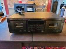 Yamaha Kx-W392 home theater dual stereo cassette tape deck player