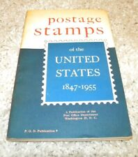 POSTAGE STAMPS OF THE UNITED STATES 1847-1955 Book and Supplement 1 1955