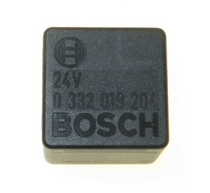 24V 30A Bosch 0332019204 Relay for MAN Mercedes Benz Normally Open