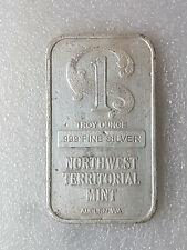 Lingot Argent Northwest Territorial Mint - Fine silver 999