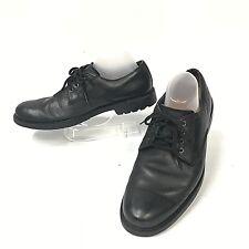 Timberland Men Waterproof Leather Oxfords Black Size 10 Medium  3145R   (sh-78)