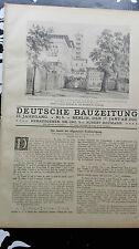 1923 5 Potsdam...Eingang Grünes Gitter....ohne Bericht