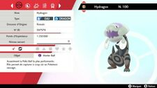 Pokemon Hydragon shiny 6IV + masterball - Battle Ready - Pokémon Epée/Bouclier