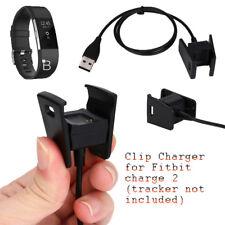 Fitness Tracker USB Ladegerät für Fitbit Charge 2 Ladekabel Sport Armband