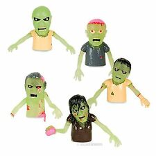 5 lot Finger Glow Zombies Undead Monsters Puppet Rubber -  Novelty Fun Gag Gifts