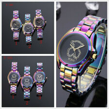 Luxury Stainless Steel Bear Watch Brand New Design Women Fashion Crystal Watches