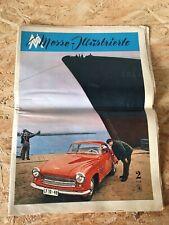 DDR Messe Illustrierte, Leipziger Messe Journal, 6.3.1958   Wartburg