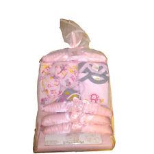 "Snugly Baby 12 Piece Layette Gift Set, ""In The Jungle"" Pink Girls Newborn"