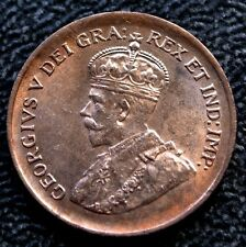 OLD CANADIAN 1936 ONE CENT PENNY - George V - WWII era - Gorgeous Coin
