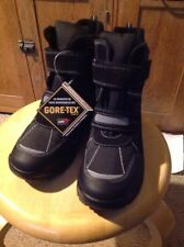 NIB CLARK'S ICE TIME BOOTS, BLACK, Children's SIZE 7.5 Medium, US Sizing.