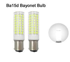 2pcs Ba15d Bayonet Base Led Bulb 102-2835SMD LED 9W 110V Ceramics Light White H