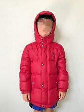 NWT $165 Ralph Lauren Boy's Red Hooded Down Puffer Jacket Coat - Sz 4/4T