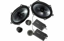 "Kicker 46CSS684 225W RMS CSS Series 6""x8"" Component Car Audio Speaker System"
