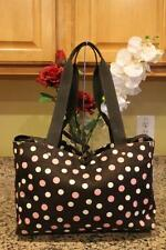 Kate Spade Brown and Pink Polka Dot Diaper Bag (PU2000