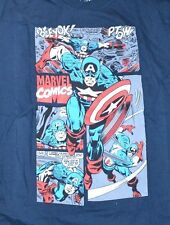 Captain America Officially Licensed Marvel Comics T-Shirt Graphic Tee Size Small