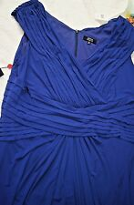 NWT TADASHI Collection TOO Size 3x Blue Evening Dress Plus