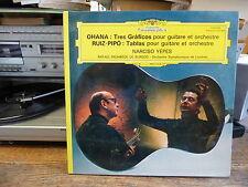Narciso Yepes : Ohana : Tres Graficos / Ruiz-Pipo : Tablas - pour guitare