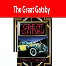 The Great Gatsby book By F. Scott Fitzgerald Paperback NEW