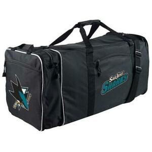 San Jose Sharks Northwest NHL Steal Duffel Bag - Black