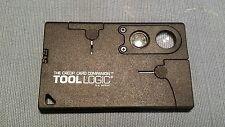 Tool Logic CC1SB Credit Card Companion with 9 Tools Black Multitool