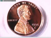 1996 S Lincoln Memorial Cent PCGS PR 69 RD DCAM 71411270 Video