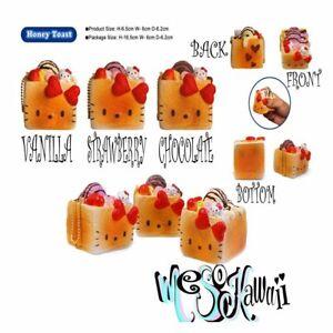 Hello Kitty Honey Toast squishy Bread