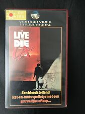To Live And Die In L.A. Ex-Rental Vintage Big Box VHS Tape English dutch subs