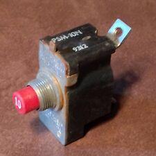 Klixon 10 Amp Circuit Breaker PSM-10N