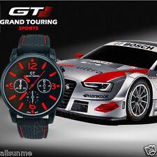 GT GRAND Men Fashion Stainless Steel Sport Cool Quartz Hours Analog Watch