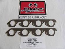Chevrolet Big Block Exhaust Gaskets (2.130 Round Port)