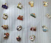 Nice HUGE LOT Vintage 17pc ROSE BOWL Game/parade Pin lot 1980s-1990s