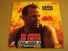 LASERDISC VERSION FRANCAISE / UNE JOURNEE EN ENFER ( DIE HARD 3 ) (BRUCE WILLIS)