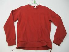 ADIDAS Sweatshirt Men's Size S Active Workout Running Long Sleeve Red Crew
