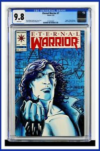 Eternal Warrior #7 CGC Graded 9.8 Valiant February 1993 White Pages Comic Book