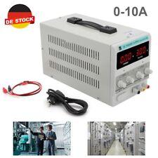 Neu Labornetzgerät DC  Regelbar Trafo Netzgerät Netzteil 0-30V 0-10A 300W DE