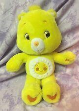 Care Bears FUNSHINE BEAR Plush 15 inches Stuffed Animal Sun Smile Yellow