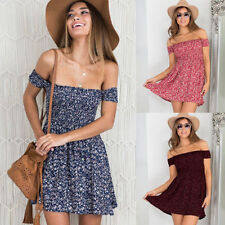 Cotton Blend Floral Sundresses for Women