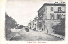 7484) VIAREGGIO (LUCCA). VIALE MANIN. ANIMATA, CARROZZE.