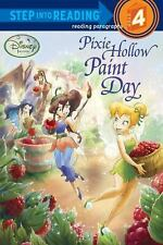 Pixie Hollow Paint Day (Disney Fairies) (Step into Reading) by RH Disney