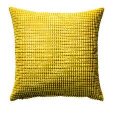 Nueva Cubierta Cojín de Ikea gullklocka tela de chenille ultra Amarillo 50X50