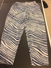 Vintage Duke Zubaz Brand Sweat Pants Large Size With Pockets