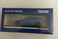 Tarmac Works 1/64 Honda Civic Type R EK9 Blue with special container Limited 999