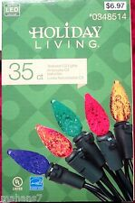 Holiday Living 35 Led C3 Lights Multi-Colored