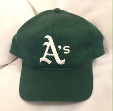 watch 1f991 ea573 Oakland Athletics All Green With White A s SnapBack MLB Hat Cap