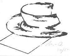Meyer-Osburg, willy-tasse-Lithographie - 20/500 - LIVRAISON GRATUITE!!!
