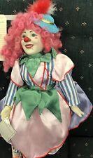 Pinky the Clown Porcelain Doll Ukraine