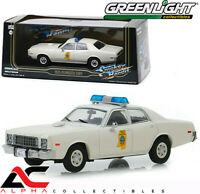 GREENLIGHT 86557 1:43 1975 PLYMOUTH FURY HIGHWAY PATROL SMOKEY & THE BANDIT